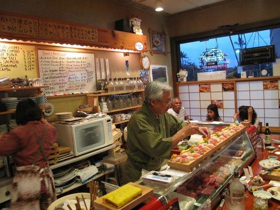 Koiso Sushi Bar: Restaurant