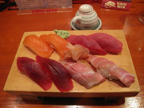 Koiso Sushi Bar: Sushi plate
