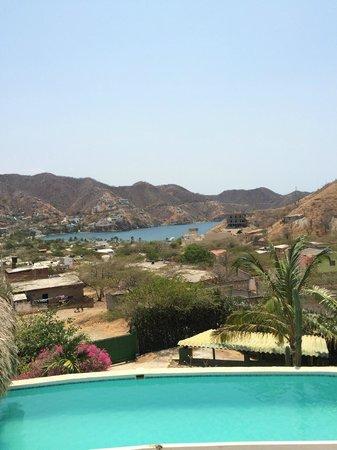 Casa Los Cerros: View from the pool