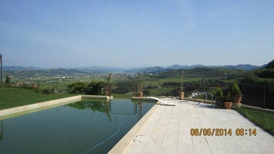 Villa Aldegheri: бассейн
