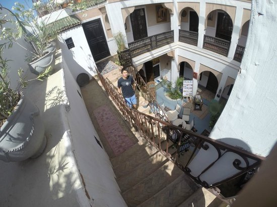 Riad Dubai: View from 1st floor