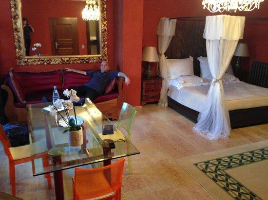 Villa Aldegheri: номер