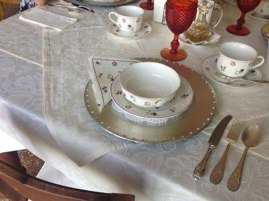 Villa Aldegheri: завтрак