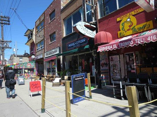 Kensington Market and Spadina Avenue: Augusta Ave (probably)