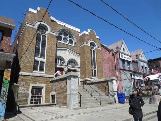 Kensington Market and Spadina Avenue: Anshei Minsk Synagogue