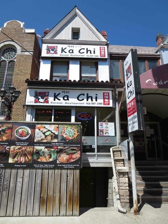 Kensington Market and Spadina Avenue: Korean Restaurant, St Andrew St