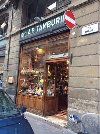 Tamburini, Bologna