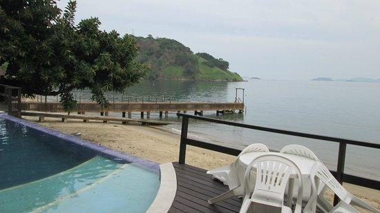 Angra Fashion Hotel: piscina e praia