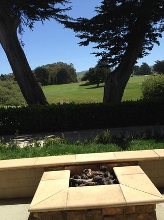 The Ritz-Carlton, Half Moon Bay : The view from room 858, Cypress House