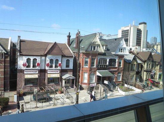 Musée des beaux-arts de l'Ontario : View from the Espresso Bar
