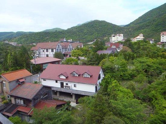 Fukudaya: 露天風呂からの眺め
