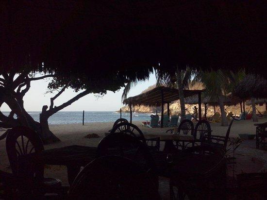 Bahia de la Luna: Vista do restaurante