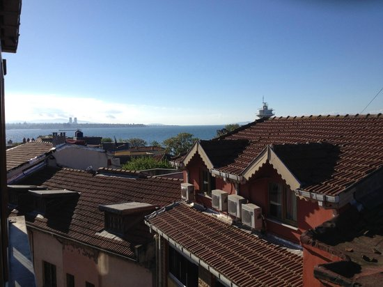 Berce Hotel: View from the breakfast area
