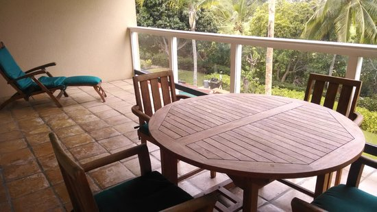 Kona Coast Resort: Patio