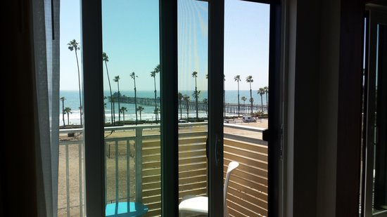 SpringHill Suites San Diego Oceanside/Downtown: View from room 307, King bed