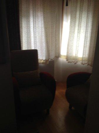 Berce Hotel : Sitting area in room