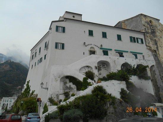 Hotel Luna Convento: vista desde la calle