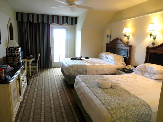 Disney's Beach Club Resort: View of our room