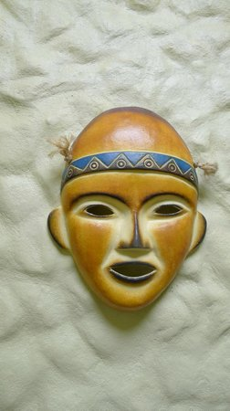 Blue River Resort & Hot Springs: Mask