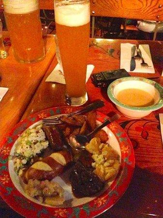 Biergarten Restaurant : Bring your appetite!  Prost!