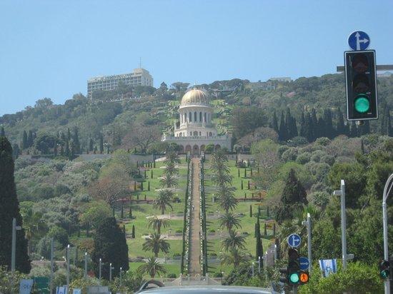 Gracious Bahai Temple view From Douzan