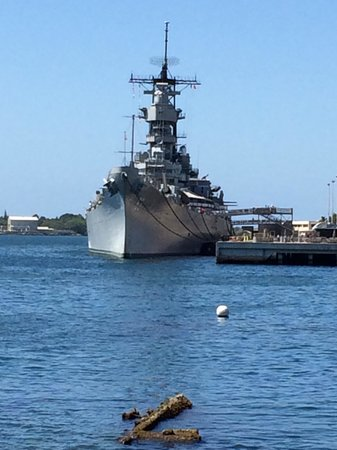 USS Arizona Memorial: In the Harbor