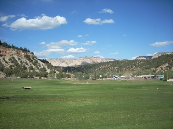 Best Western East Zion Thunderbird Lodge : Golf course at Thunderbird, looking to the North East