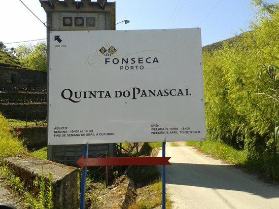 Quinta do Panascal : Entrada da Quinta