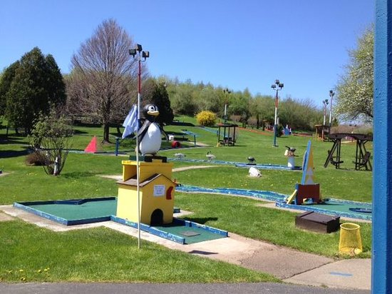 Macedon, NY: Mini golf