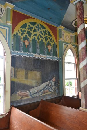 The Painted Church : Interior walls 2