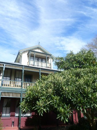 Leura House: Our room was at the top