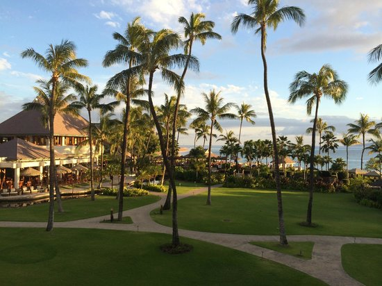 Sheraton Maui Resort & Spa : view from our oceanfront room