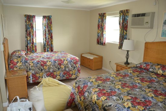 Blackfin Resort and Marina: One room of the 2 Bedroom / 2 Bathroom Apartment