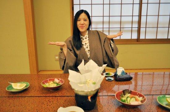 Nishiyama Ryokan : 紙火鍋