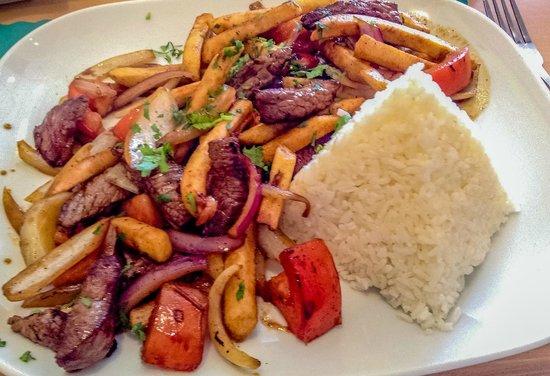 Delicias Peruanas: Beef Plate