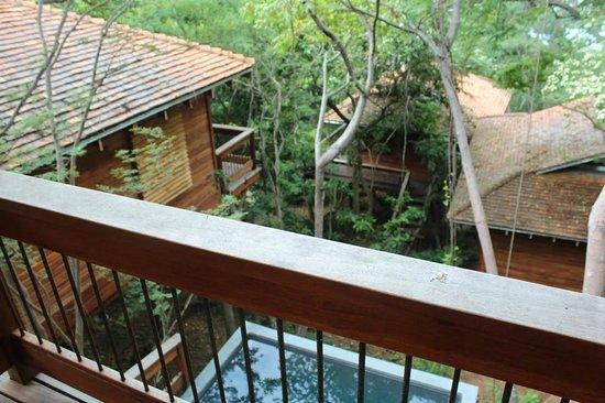 Aqua Wellness Resort: Top floor view and private pool below