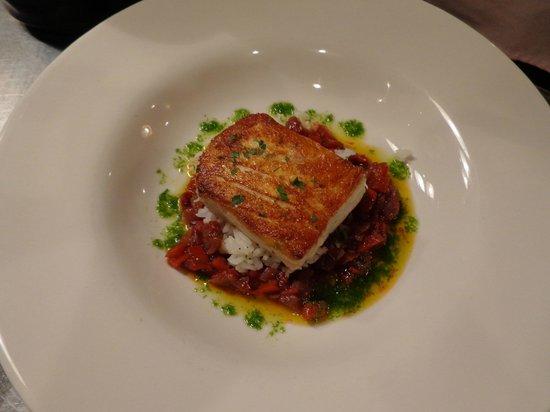 Blair Hill Inn : Fresh fish dishes