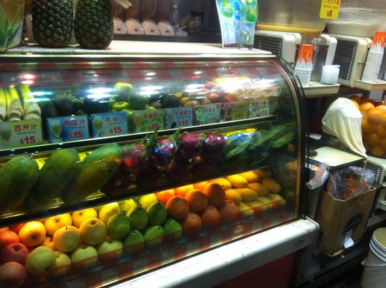 Park Hotel Hong Kong: Juice Lady