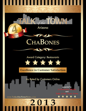 Cha-Bones: As only ChaBones can...