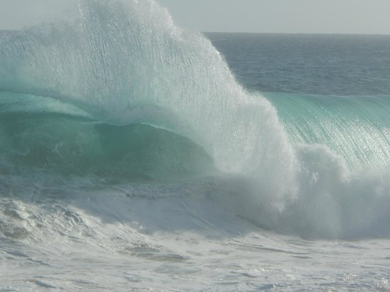 Grand Solmar Land's End Resort & Spa : Waves are AMAZING!
