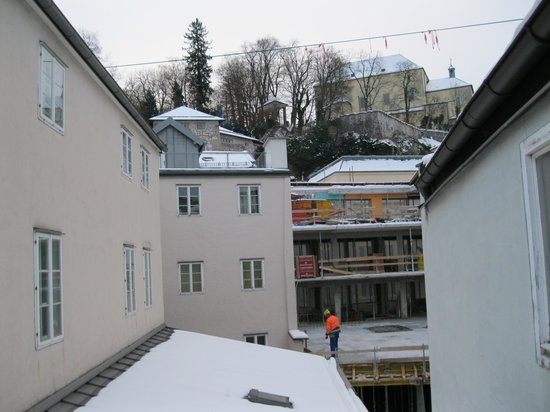Stadtkrug Hotel: vista da varanda
