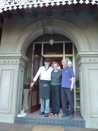 Tynwald Willowbend Estate: Warm hospitality