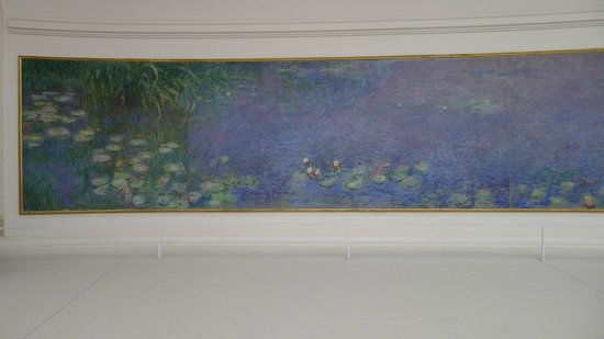 Musee de l'Orangerie: Left side, Morning painting