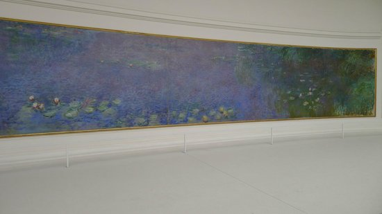Museo de la Orangerie: Right side, morning painting