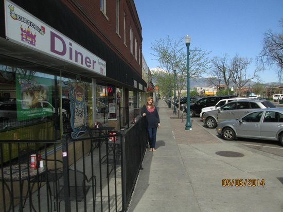 King's Chef Diner: Nicest weather.