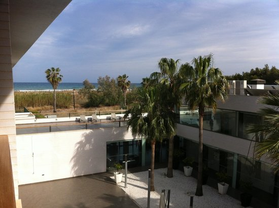 Hotel Els Arenals: view from balcony
