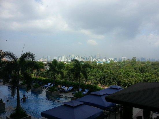 Manila Marriott Hotel: I think I can see Makati area?