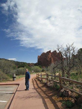 Jardín de los dioses (Garden of the Gods): just a walk