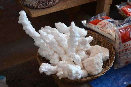 Salinas de Maras: Salt Crystals