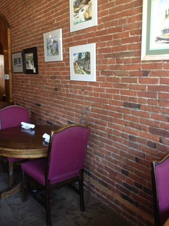 "La Grange Cafe : The more ""formal"" dining area"